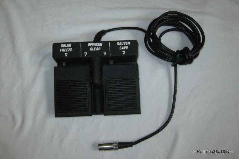 Alcon Foot Pedal only for OcuScan Ophthalmic Ultrasound System Rev C 3 123