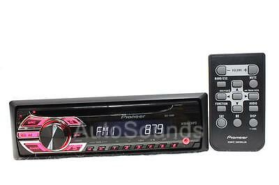 PIoneer DEH-150MP CD/MP3/WMA Player Front Auxiliary Input Wireless Remote