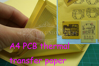 Sheets A4 Thermal Heat Transfer Paper For Pcb Circuit Board Iron Prototype 20pcs