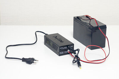 Proline DC UPS 60W   Uninterruptible power supply   13.8V 1A Battery charge