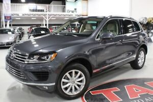 2016 Volkswagen Touareg 3.6L HIGHLINE | CLEAN CARPROOF | VW WARR