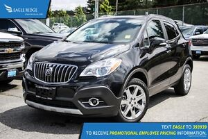 2016 Buick Encore Leather Navigation, Sunroof, and Heated Seats