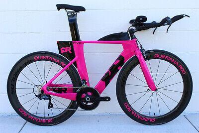 bfd06af8d NEW 2018 Quintana Roo PRFive Ultegra Race Carbon Triathlon Bike 50cm