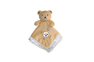 Pittsburgh Steelers 14x14 Security Bear Blanket Baby Fanatic
