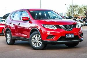 2014 Nissan X-Trail ST 4WD T32 Red 7 Speed Constant Variable Wagon Rockingham Rockingham Area Preview