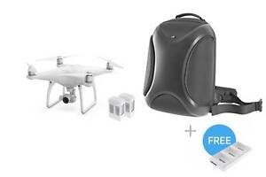 Phantom 4 + 2 Extra Bat + Multifunctional Backpack + Charging Hub Canley Vale Fairfield Area Preview