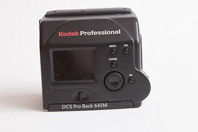 Kodak DCS ProBack 645 Mamiya 645 Digital Medium Format Camera Back