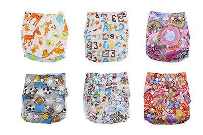 Newborn Baby Alva Cloth Diapers Flip Covers Reusable Washabl