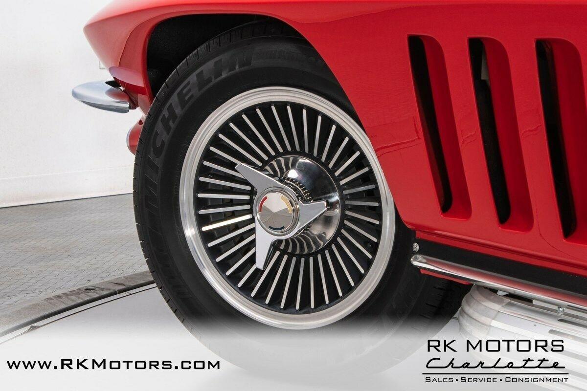 1965 Red Chevrolet Corvette   | C2 Corvette Photo 6