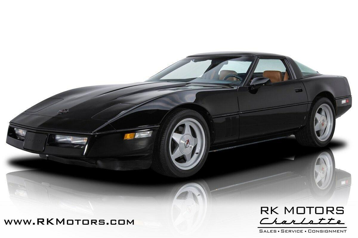 1988 Black Chevrolet Corvette Callaway  | C4 Corvette Photo 1