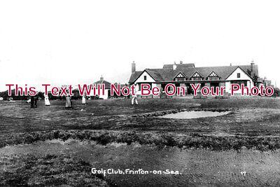ES 3979 - Golf Club, Frinton On Sea, Essex