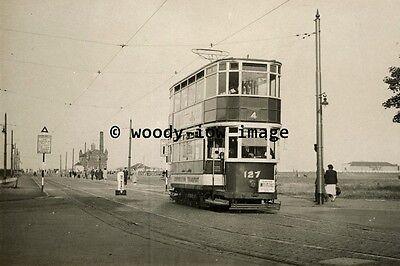 a0454 - Aberdeen Tram 127 to Hazelhead - photograph 6x4