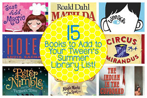 15 Books to Add to Your Tween's Summer Library List