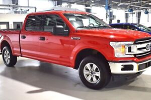 2018 Ford F-150 XLT 4x4 ECOBOOST 4DR 6PASS LONG BOX CREW CAB