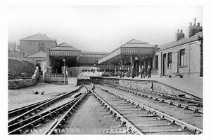 pt2750 - Liversedge Railway Station , Yorkshire - photograph 6x4