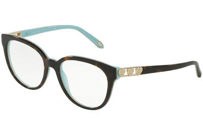 af9cb8af67b  440 New Tiffany   Co. TF2145 8134 Havana Blue RX Eyeglasses Frames 54mm