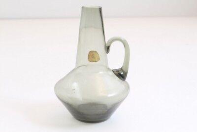 Alfred Pigeon Vohenstrauss Kristallglasfabrik Glas Jug Carafe Jug