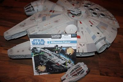 2008 Star Wars Legacy Collection Millenium Falcon Hasbro Ship *RARE*