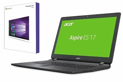 WINDOWS 10 PRO NOTEBOOK ACER ES1-732 - BIS 2000GB HDD - 17 ZOLL GLÄNZEND Acer 17