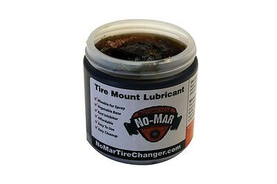 No-Mar Tire Lube Paste Pint 1 lb Motorcycle Truck Car Bicycle Rubber Lubricant