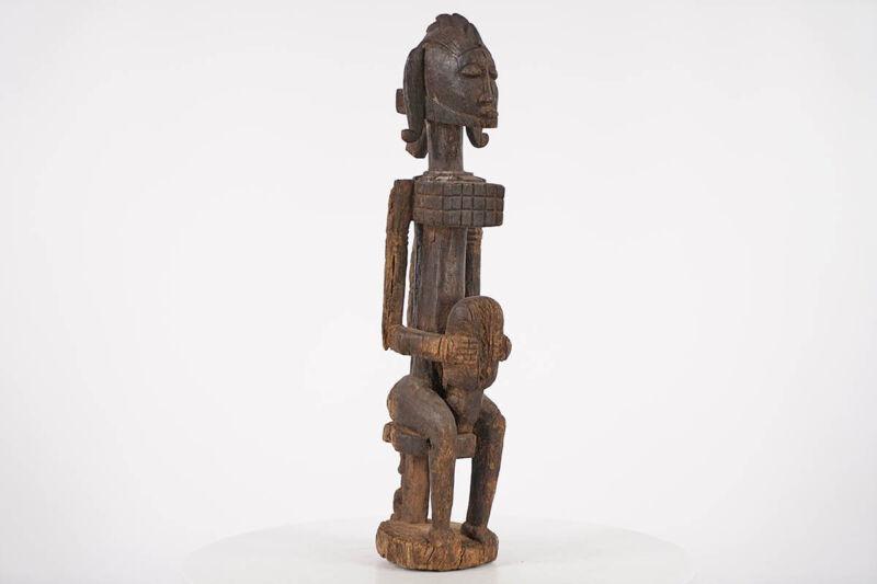 """Timeworn Unique Dogon Statue 25"""" - Mali - African Art"""