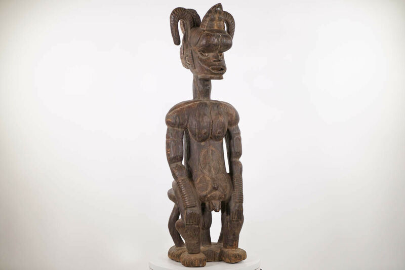 "Very Large Male Igbo Statue 53"" - Nigeria - African Art*"