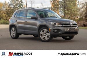 2016 Volkswagen Tiguan - ALL-WHEEL DRIVE, LEATHER, REARVIEW CAME