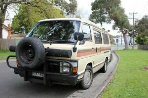 1985 Toyota Hiace Pop Top fully equipped Boronia Knox Area Preview