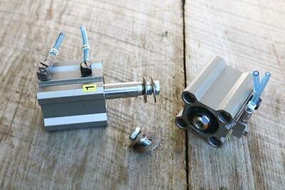 Lot Of 2 Smc Cylinder Dual Pneumatic Cq2b25-25d Automation Robot Animatronic Kj