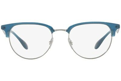Ray-Ban RB 6396 2934 Eyeglasses Optical Frames Glasses Blue & Silver (Cheap Ray Ban Optical Frames)