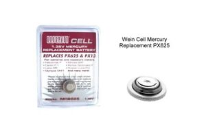 Wein Cell EPX/PX625 PX13 MRB62 mercury replacement battery 1.35v.Not Alkaline