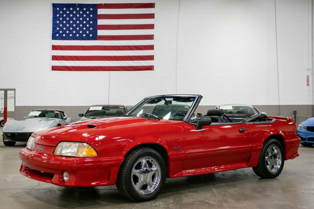 1992 Ford Mustang GT 5.0 56793 Miles Red  5.0L V8 Automatic