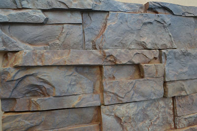 Concrete Tile Molds (9 Plastic Molds for Concrete Plaster Wall Stone Cement Tiles MOULD ABS #W02  )