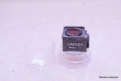 Nikon Microscope Fluorescence Filter Cube Dm580 G-2a