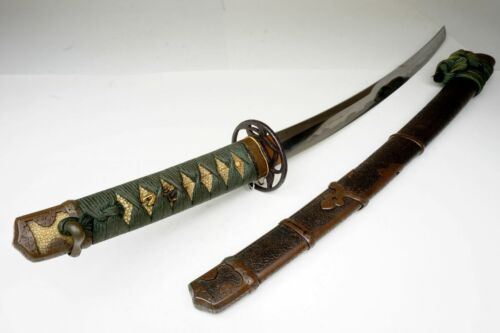 Antique Japanese TACHI Wakizashi Sword Osafune長船 Samurai Katana Nihonto