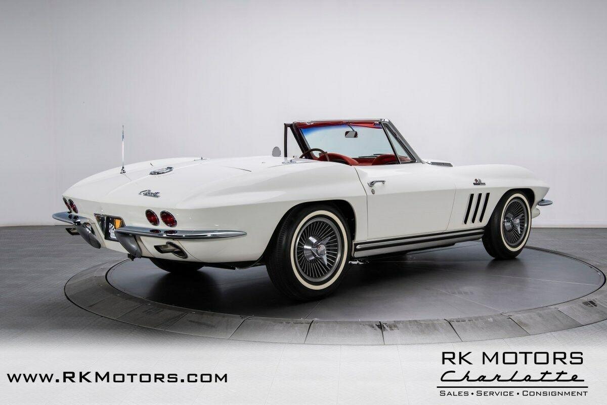 1965 White Chevrolet Corvette   | C2 Corvette Photo 2