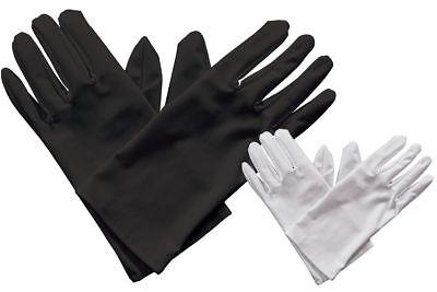 Herren Handschuhe Schwarz oder Weiß Kostüm Herren Herren - Weiße Oder Schwarze Kostüm Handschuhe