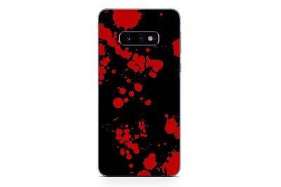 Samsung Galaxy S10 Skin Design Aufkleber Sticker Schutzfolie Blood Black Skin Design Schutzfolie