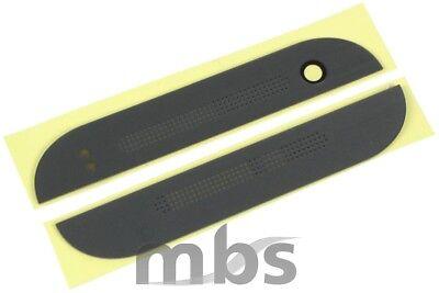 HTC One Mini 2 M5 Front Sticker Oben Unten Abdeckung Cover Linse Blende
