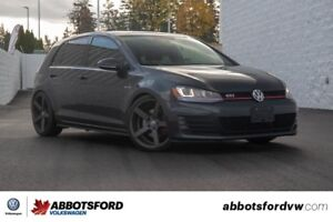 2015 Volkswagen GTI - BC CAR, LEATHER, SUNROOF, NAVIGATION