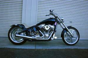 2002 AMERICAN IRONHORSE TEJAS CHOPPER HARLEY DAVIDSON SHOW BIKE Irymple Mildura City Preview