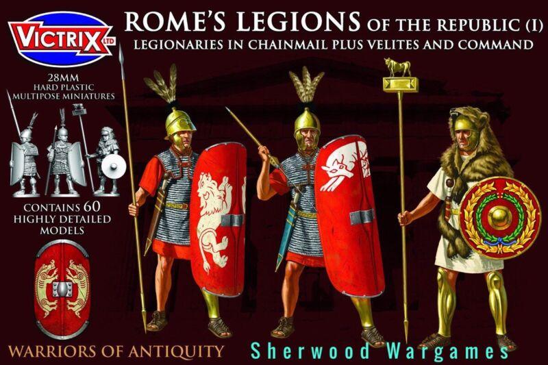 28mm Romes Legions Of The Republic In Mail, Hail Caesar, Ancients BNIB