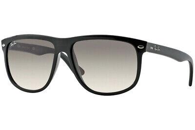 Ray-Ban Boyfriend Sunglass RB4147 601/32 60mm  Black Grey Gradient GLASS (Ray Ban Boyfriend Glasses)