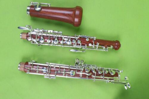 new oboe Nice Sound C key solid wood Body 3rd Octave left F Profession #A1