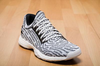 e72d6758f0cc Adidas James Harden Vol.1 LS Primeknit Boost Basketball Shoe Black White  Oreo