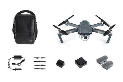DJI Mavic Pro Fly More Combo - 4K Stabilized Camera, Animated Track
