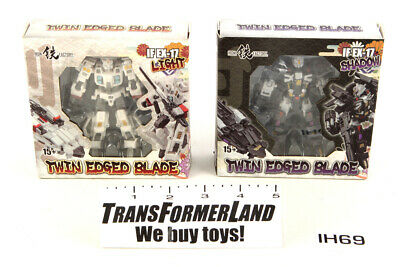 Twin Edged Blade Light Shadow MISB Iron Factory 3rd Party IDW G1 Drift Deadlock