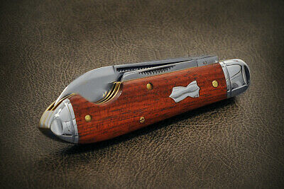 "Great Eastern Cutlery Northfield 852216EO Bloodwood ""Bullet Jack"" NIT MINT."