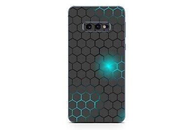 Samsung Galaxy S10 Skin Design Aufkleber Sticker Schutzfolie Exo Small Türkis Skin Design Schutzfolie