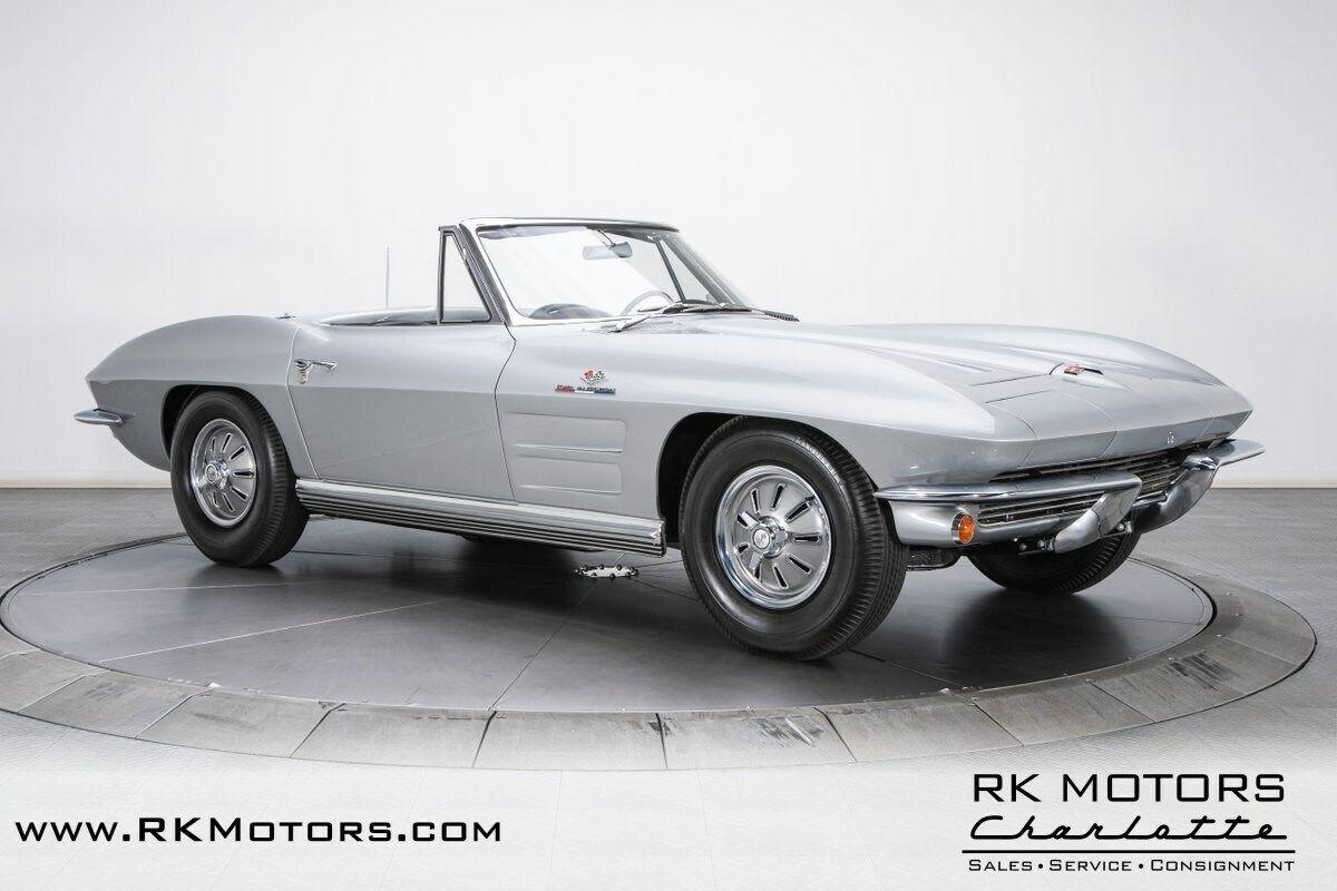 1964 Silver Chevrolet Corvette   | C2 Corvette Photo 8